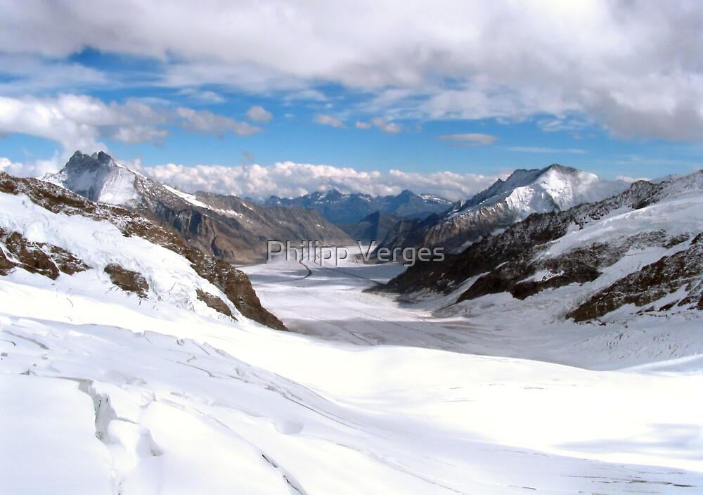 Great Aletsch Glacier by Philipp Verges