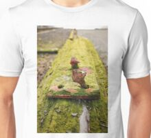 rusted bolt for rails Unisex T-Shirt