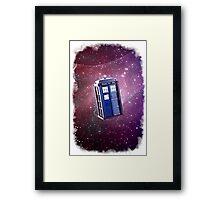 Blue Box nebula Tee Tardis Hoodie / T-shirt Framed Print