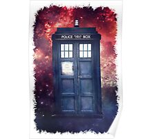 Police Blue Box Tee The Doctor T-Shirt Poster