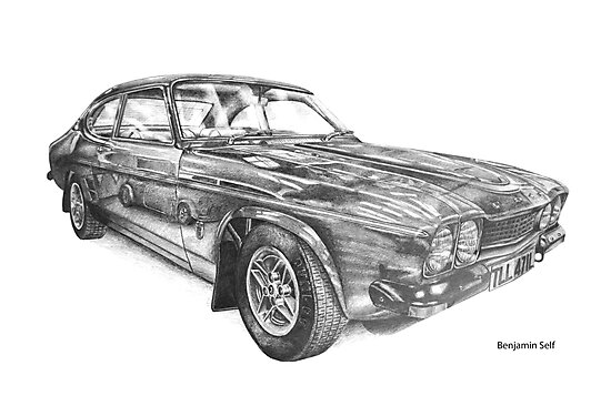 Ford Capri RS3100 by BSIllustration