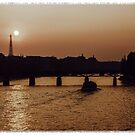 Paris at dusk. by naranzaria