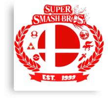 Smash Bros Canvas Print