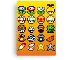Powerups Canvas Print