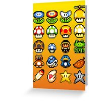Powerups Greeting Card