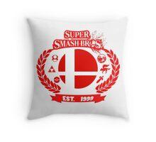 Smash Bros Throw Pillow