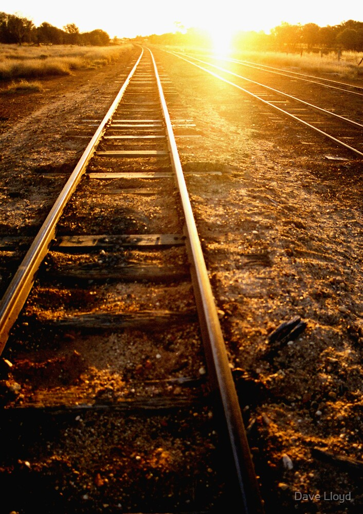 Tracks To Sunset by Dave Lloyd