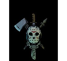 Friday the 13th Jason Voorhees Photographic Print