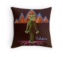 Tadasana Throw Pillow