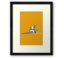 Taking The Slow Road Framed Print