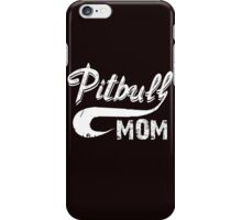 Pitbull Mom iPhone Case/Skin