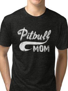 Pitbull Mom Tri-blend T-Shirt