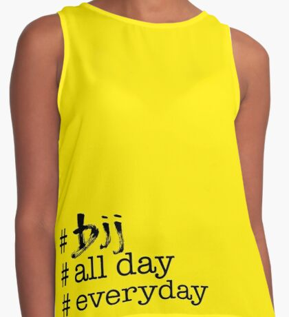 BJJ All Day Everyday  Contrast Tank