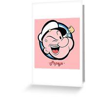Popeye 1 Greeting Card
