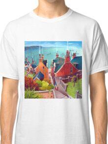 Sea houses. Gardenstown. Classic T-Shirt