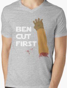 Ben Cut First Mens V-Neck T-Shirt