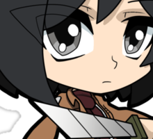 Attack on Titan - Mikasa Sticker