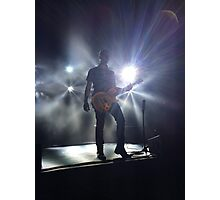 OAR Guitarist Photographic Print