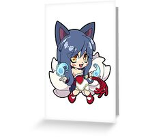 League of Legends - Ahri Greeting Card