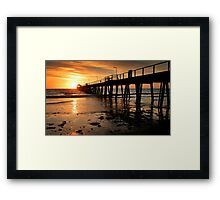 Sunset: Henley Beach Framed Print