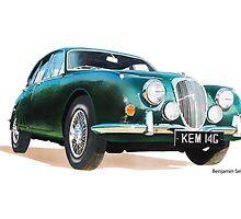 Daimler V8 by BSIllustration