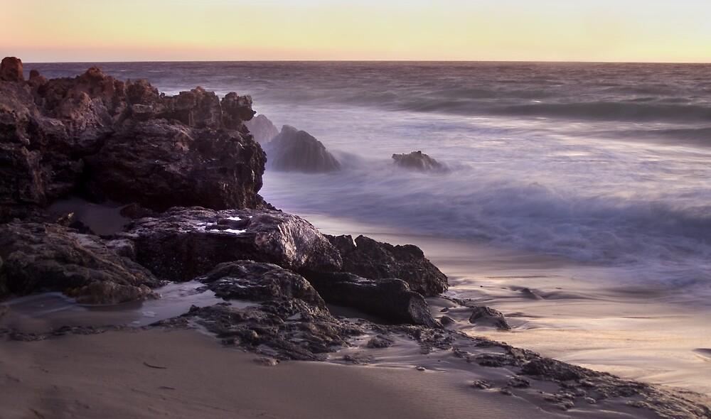 Watermans Beach Perth by Elana Halvorson