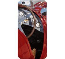 1939 Maserati Race Car 'Driver's Compartment Detail' iPhone Case/Skin