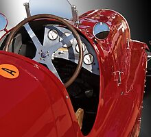 1939 Maserati Race Car 'Driver's Compartment Detail' by DaveKoontz