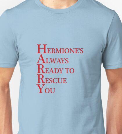 Harry Hermione mash-up Unisex T-Shirt
