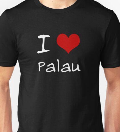 I love Heart Palau Unisex T-Shirt
