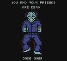 JASON FRIDAY THE 13TH 8-BIT NES by ideanuk