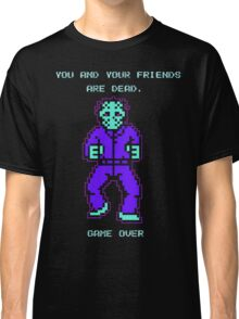 JASON FRIDAY THE 13TH 8-BIT NES Classic T-Shirt