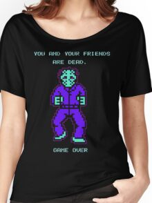 JASON FRIDAY THE 13TH 8-BIT NES Women's Relaxed Fit T-Shirt