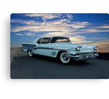 1958 Pontiac Bonneville Convertible Canvas Print