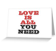 I Love You Lover Greeting Card