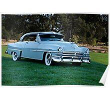 1953 Chrysler New Yorker Deluxe Sedan Poster