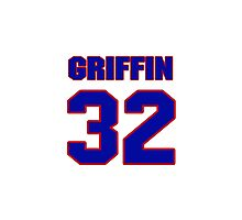 Basketball player Blake Griffin jersey 32 Photographic Print
