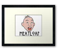 MEATLOAF Framed Print