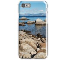 Granite Boulder Shoreline iPhone Case/Skin
