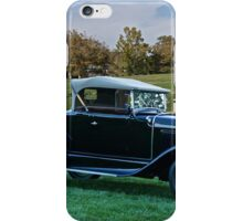 1931 Ford Model A 'Rumble Seat' Roadster 2 iPhone Case/Skin
