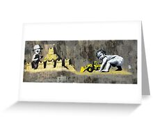 hastings Banksy & DS Greeting Card