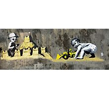 hastings Banksy & DS Photographic Print