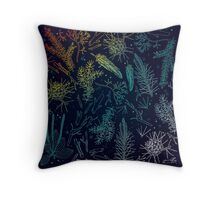wild forest things Throw Pillow