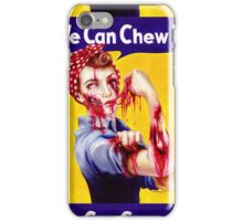 We Can Chew It! iPhone Case/Skin