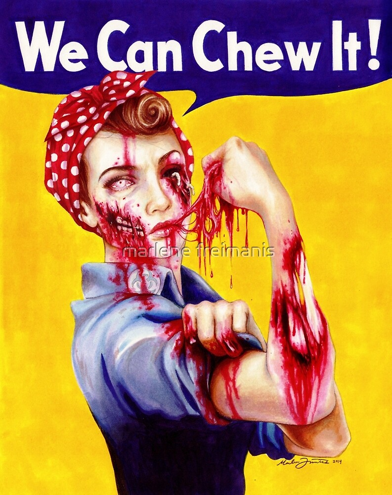 We Can Chew It! by marlene freimanis