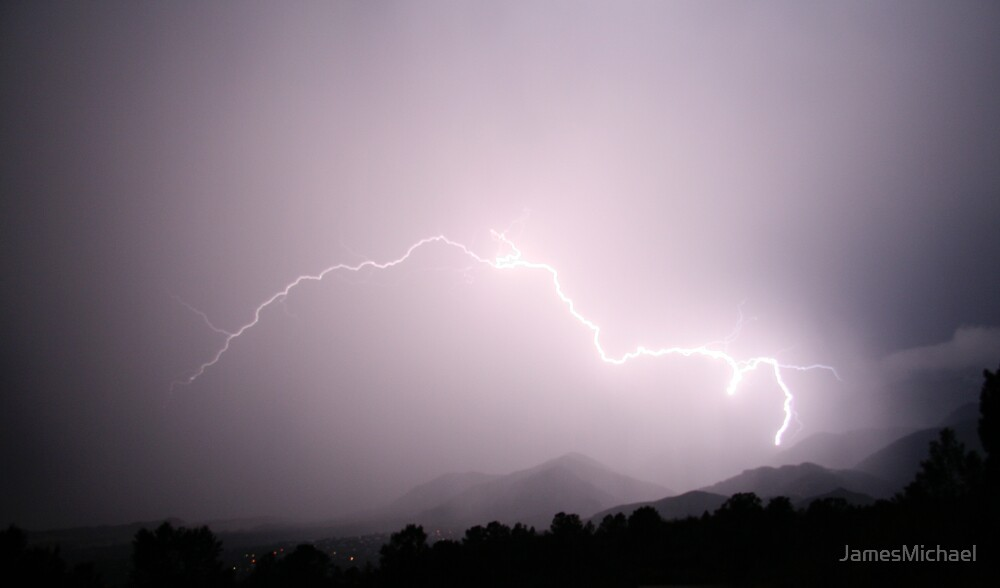 Lightning Strikes by JamesMichael