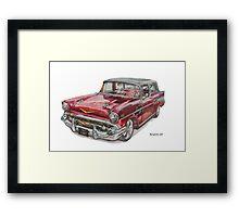 Chevrolet Nomad Framed Print