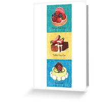 Epicerie Panel 1 Greeting Card