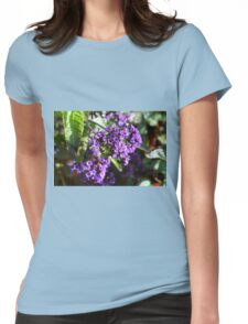 Purple Nature Womens Fitted T-Shirt