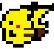 Pikachu Yellow by eddytkirk